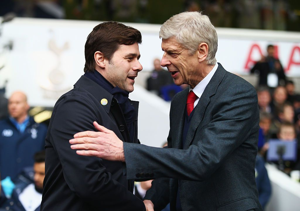 Pochettino and Wenger
