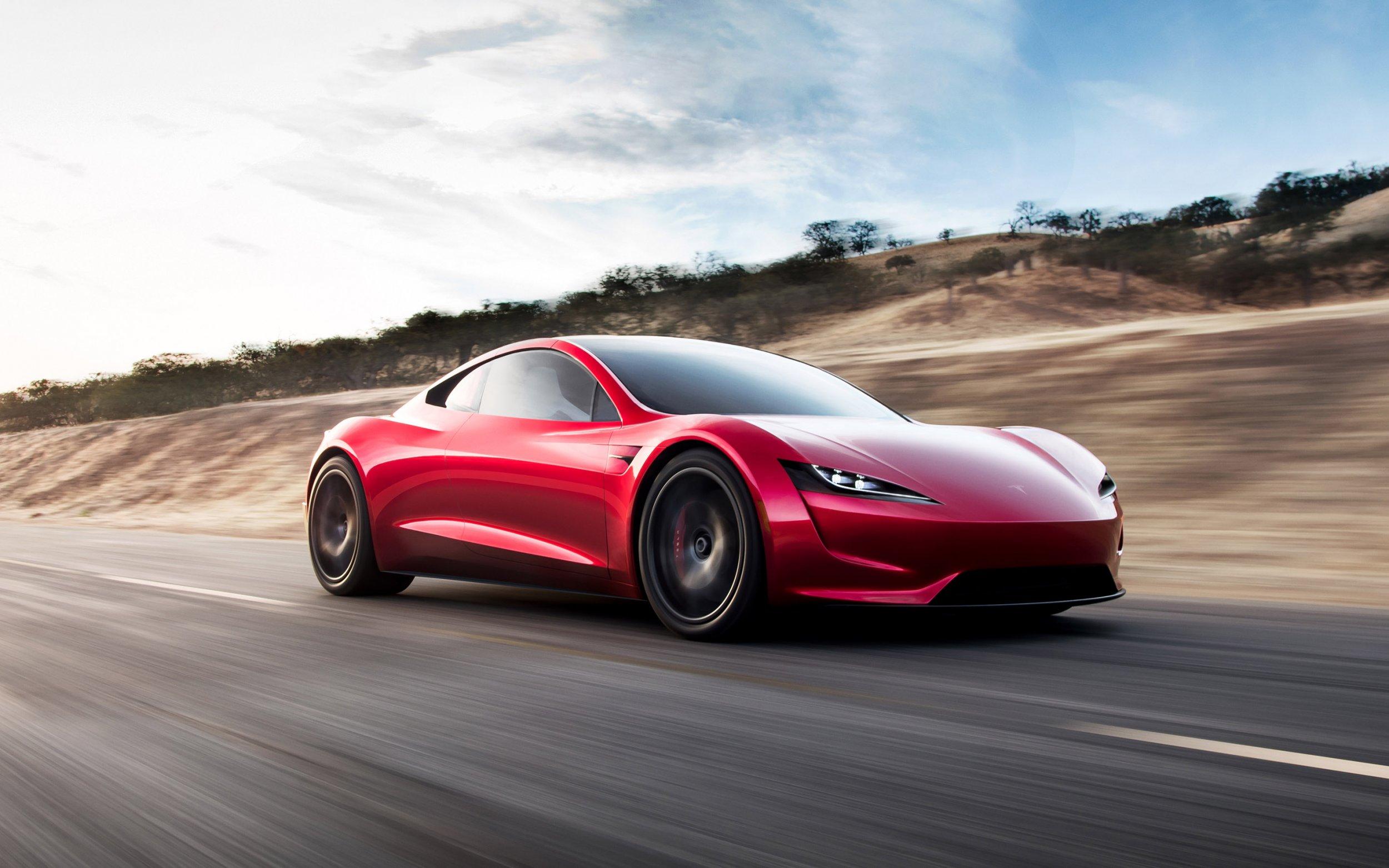 elon musk tesla roadster speed