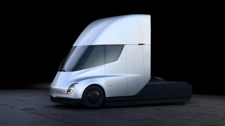 tesla semi truck electric musk