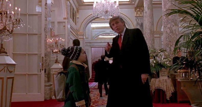 Donald Trump in Home Alone 2