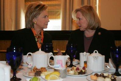 Hillary Clinton, Kristen Gillibrand