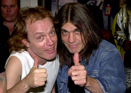 Who is Malcolm Young's wife, Linda?