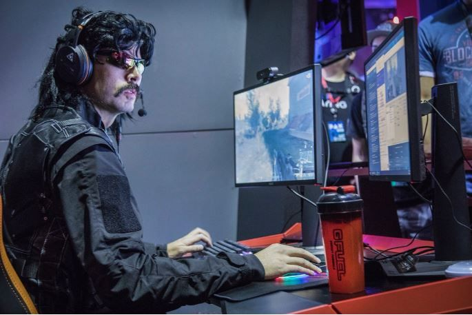 Twitch Streamer Dr DisRespect Is More Than Just A Mullet