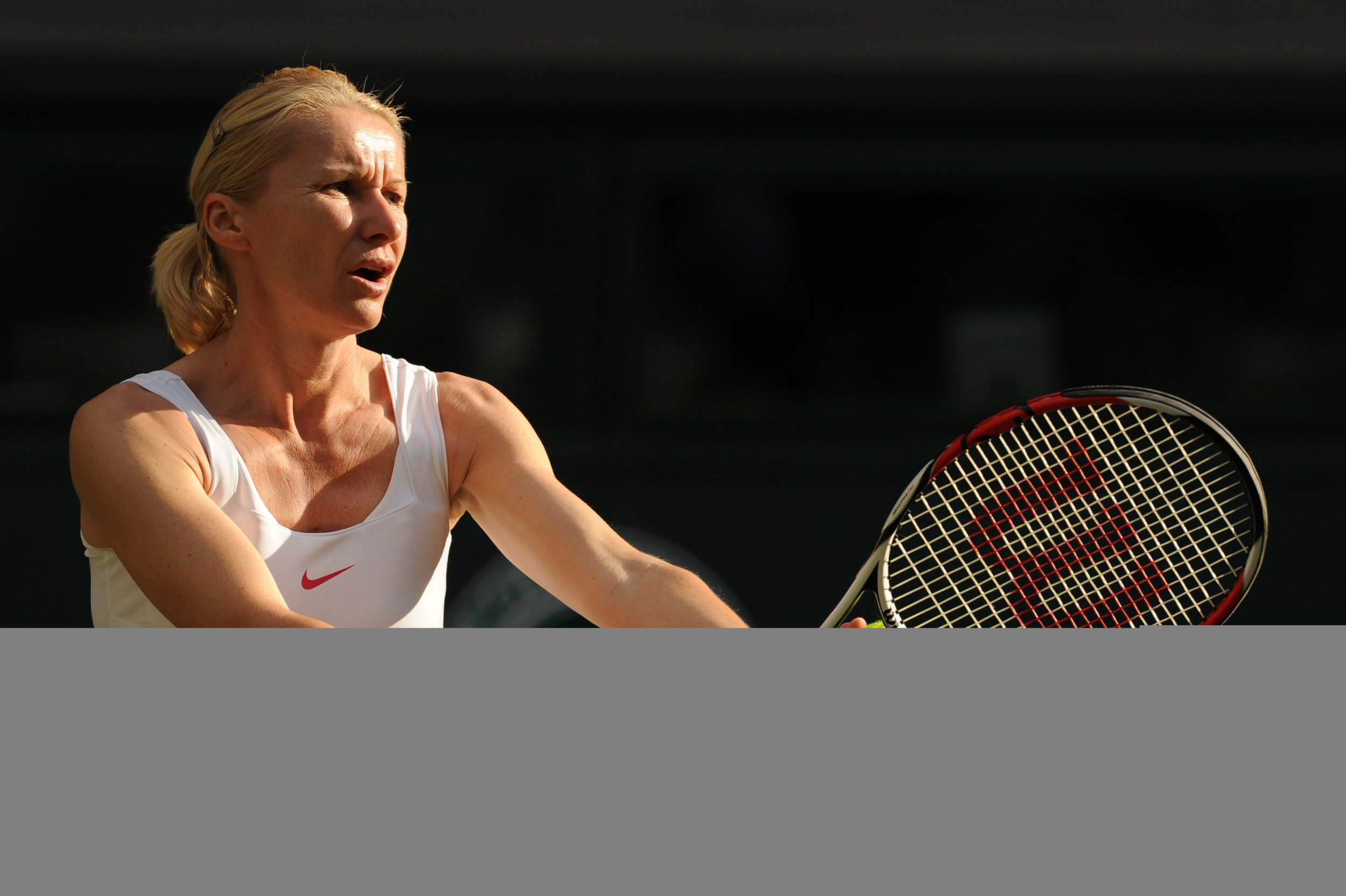 Former Wimbledon winner Jana Novotna.