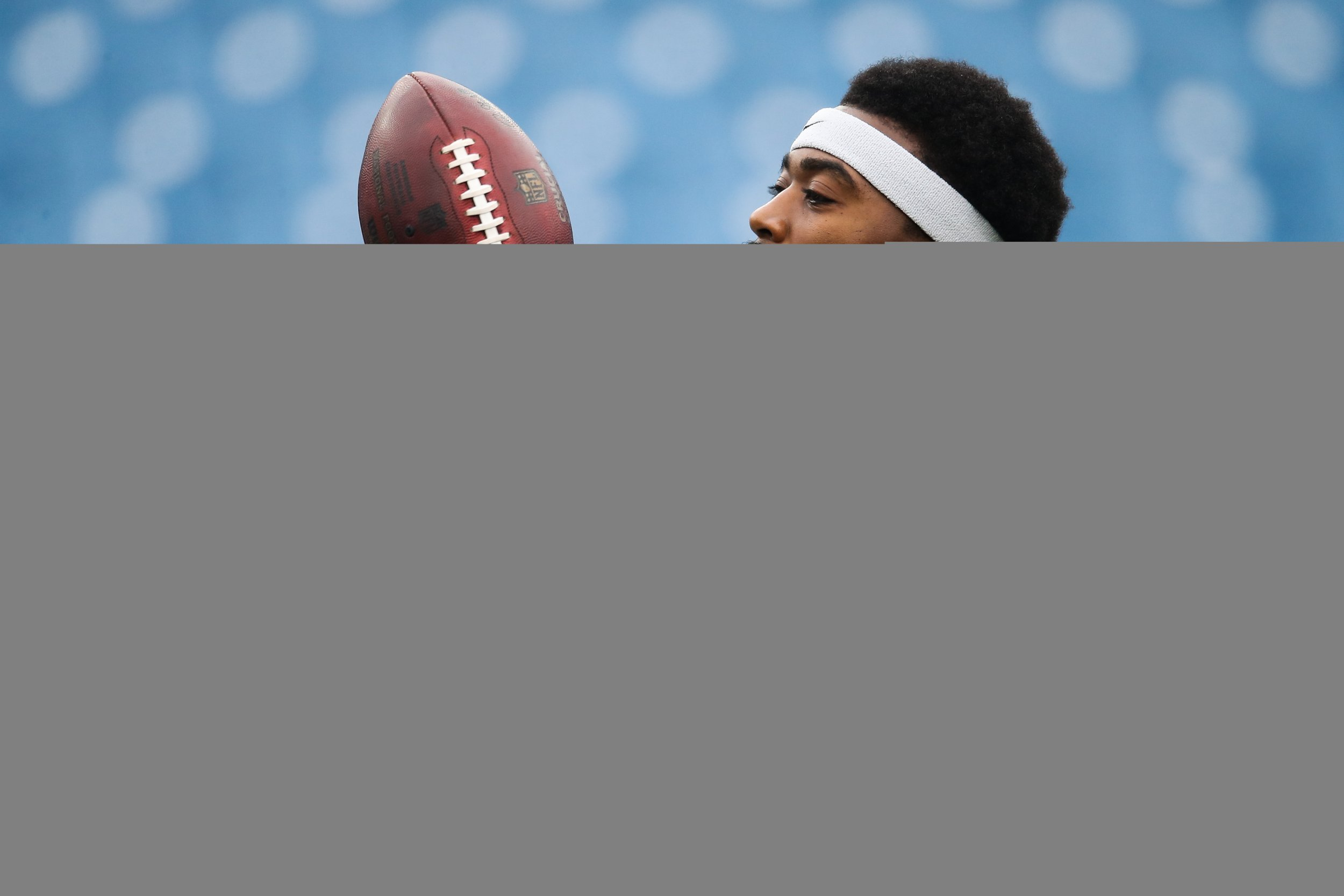 Tyrod Taylor of the Buffalo Bills at New Era Field, Orchard Park, New York, November 12.