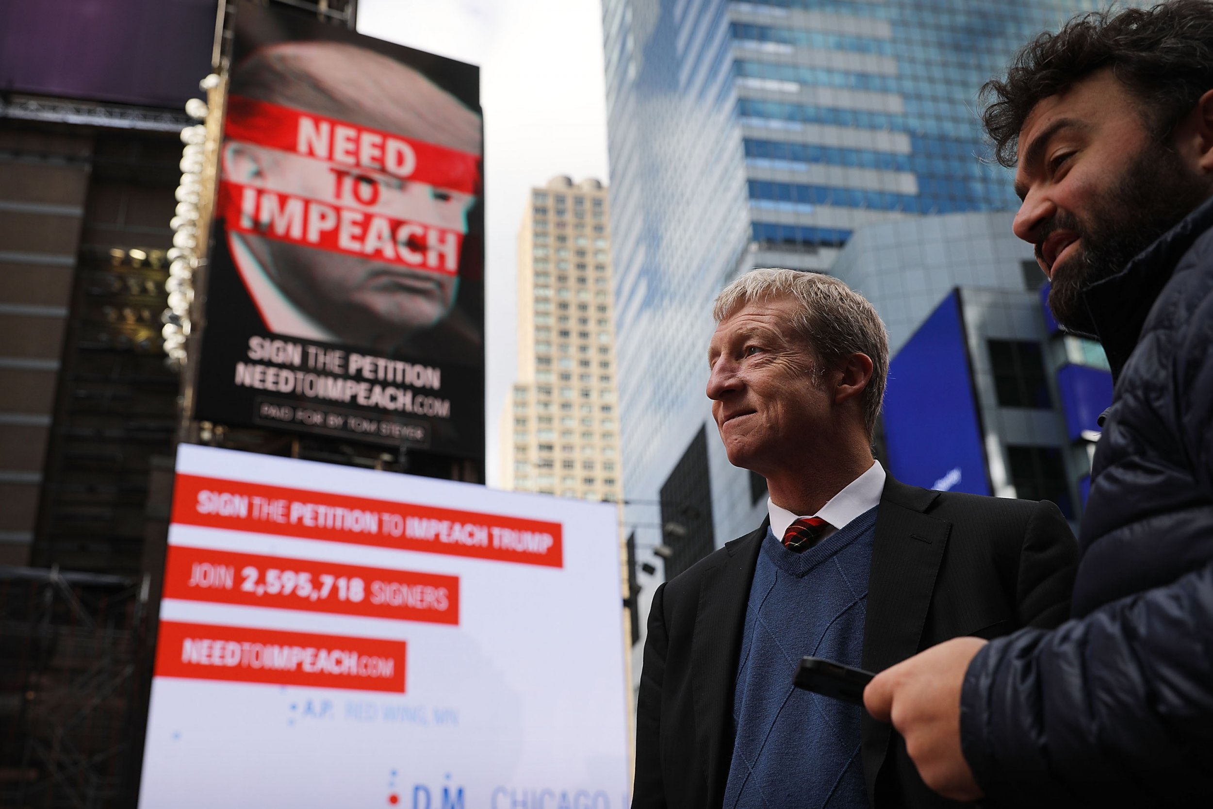 Tom Steyer, impeach Trump