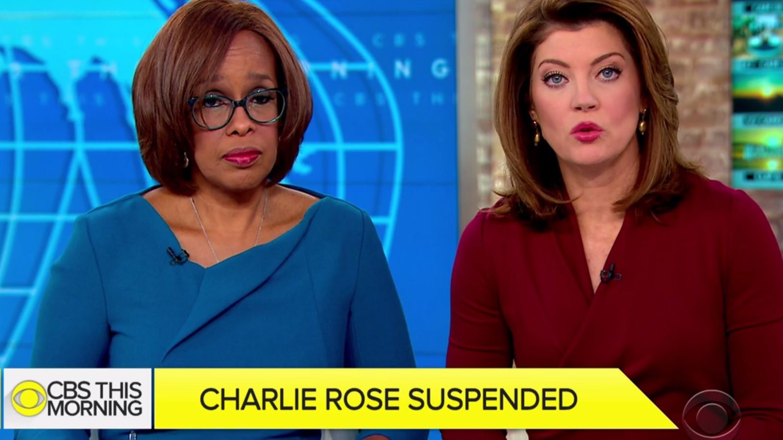 CBS This Morning addresses Charlie Rose suspension
