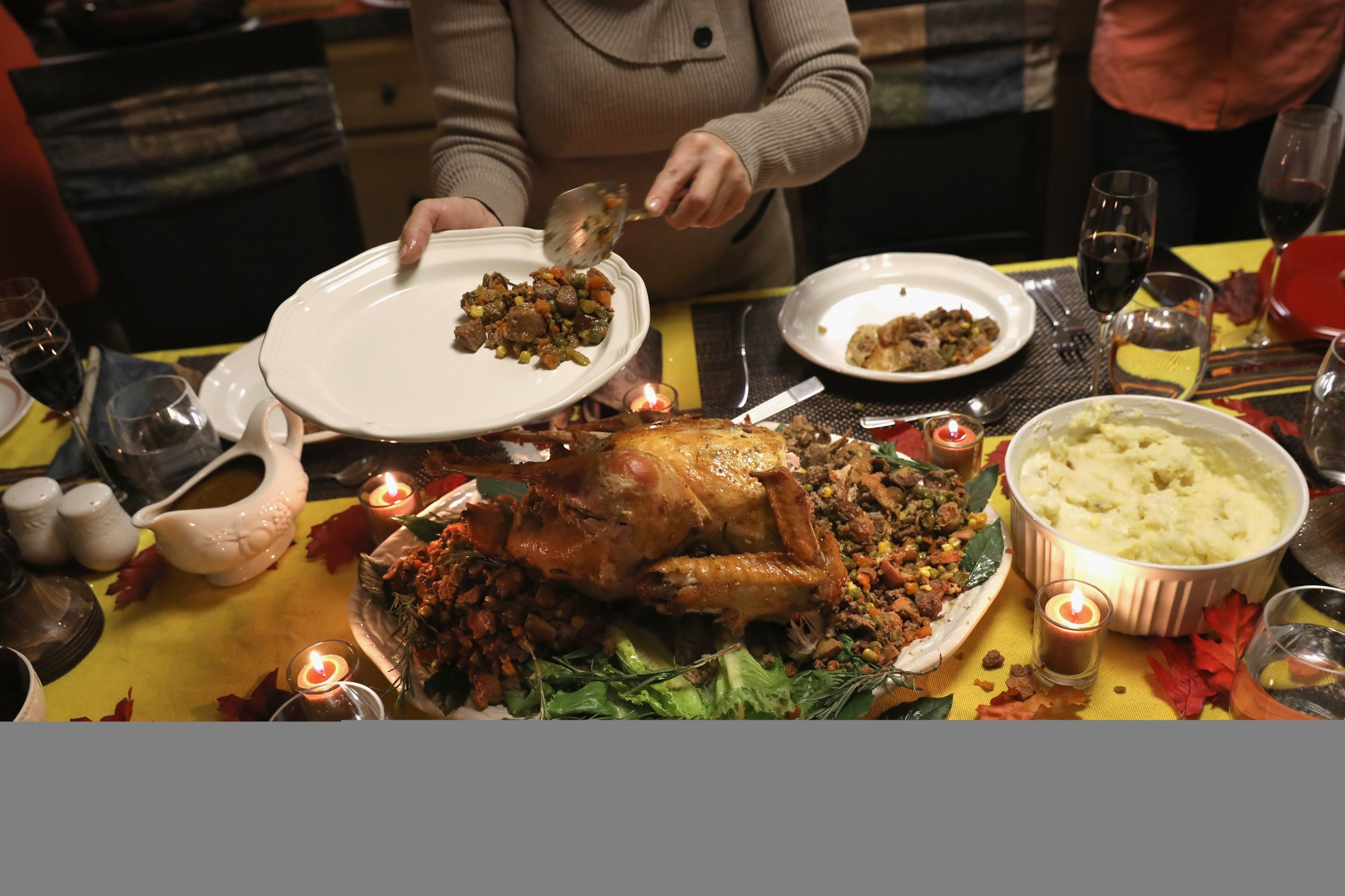pictures of thanksgiving dinner