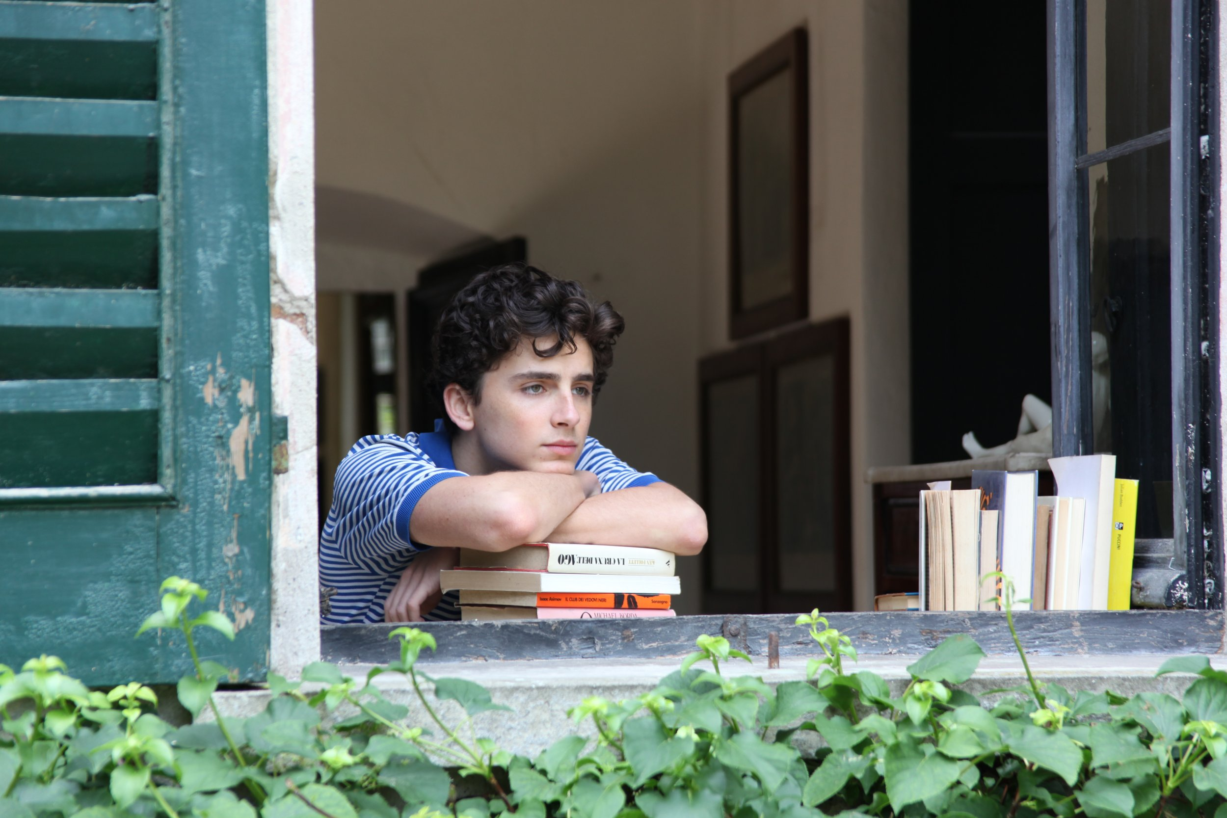 Timothée Chalamet on  Call Me By Your Name 8c181fa7128