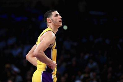L.A. Lakers point guard Lonzo Ball.