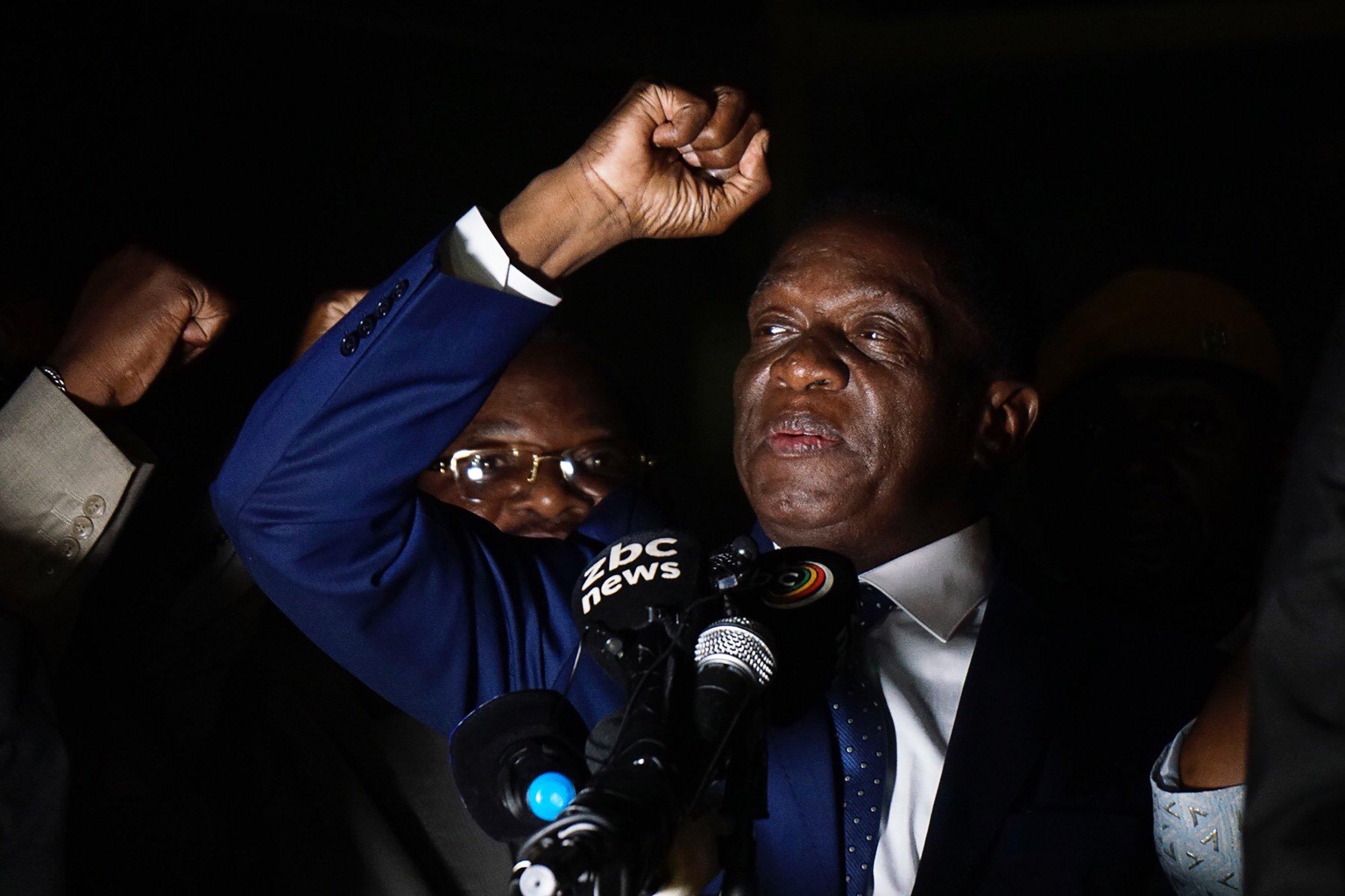 Is the Crocodile a fresh start for Zimbabwe, or a new Robert Mugabe?