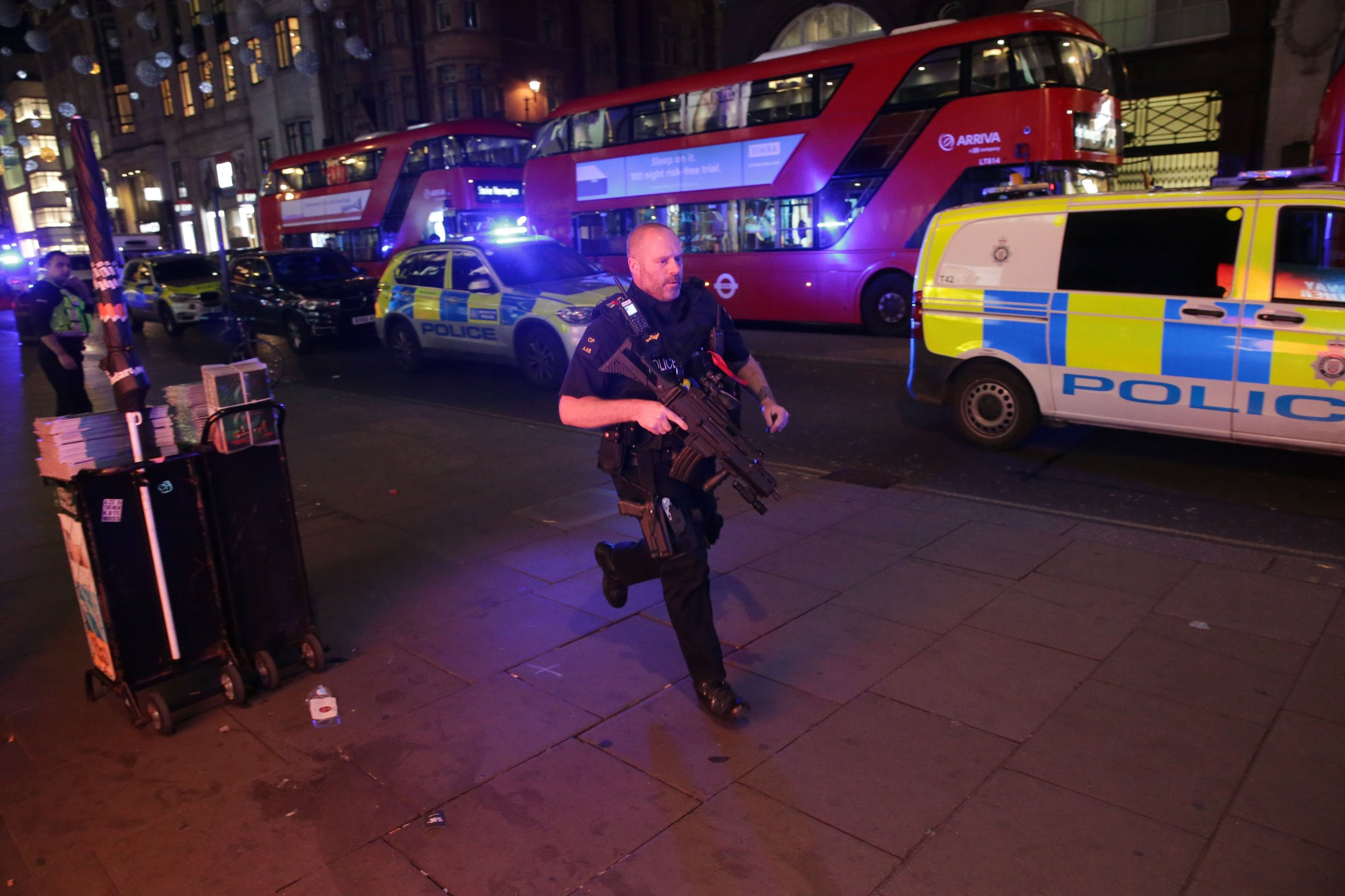 London's Oxford Circus subway station evacuated with armed police on the scene