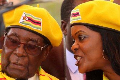 Zimbabwe robert mugabe wife salary