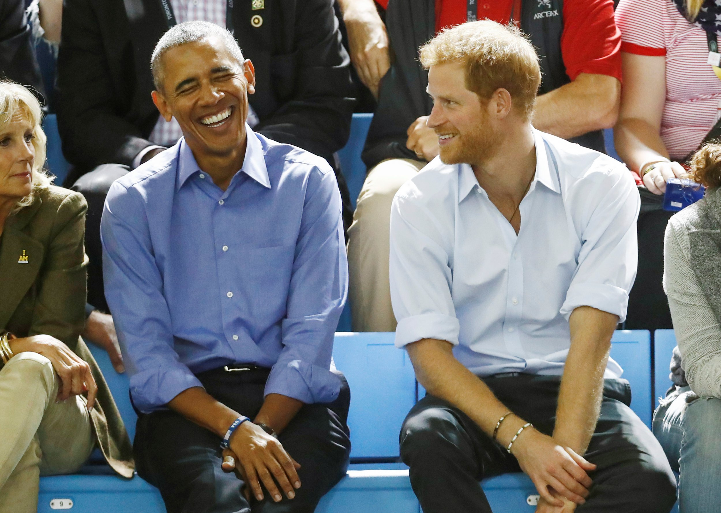 Obama dan Pangeran Harry