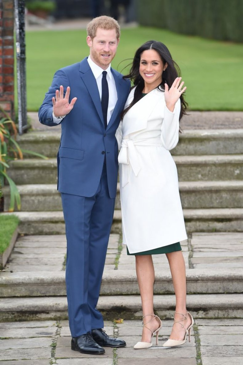 markle coat engagement