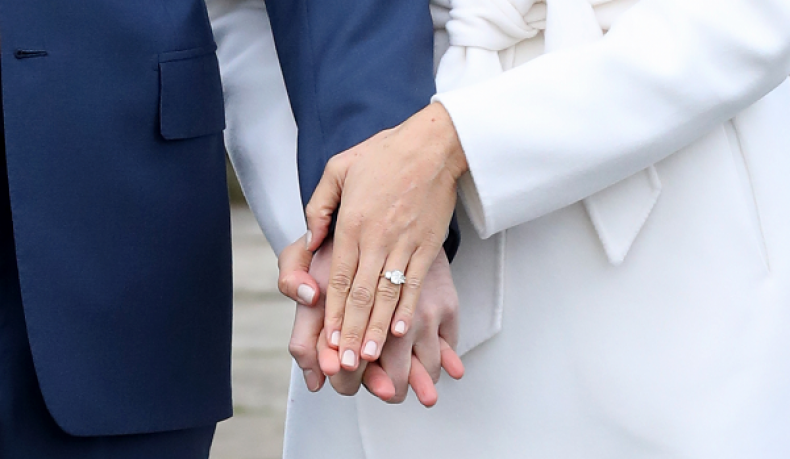 Meghan Markle's Engagement Ring Was Made With Diamonds From Princess Diana's Collection