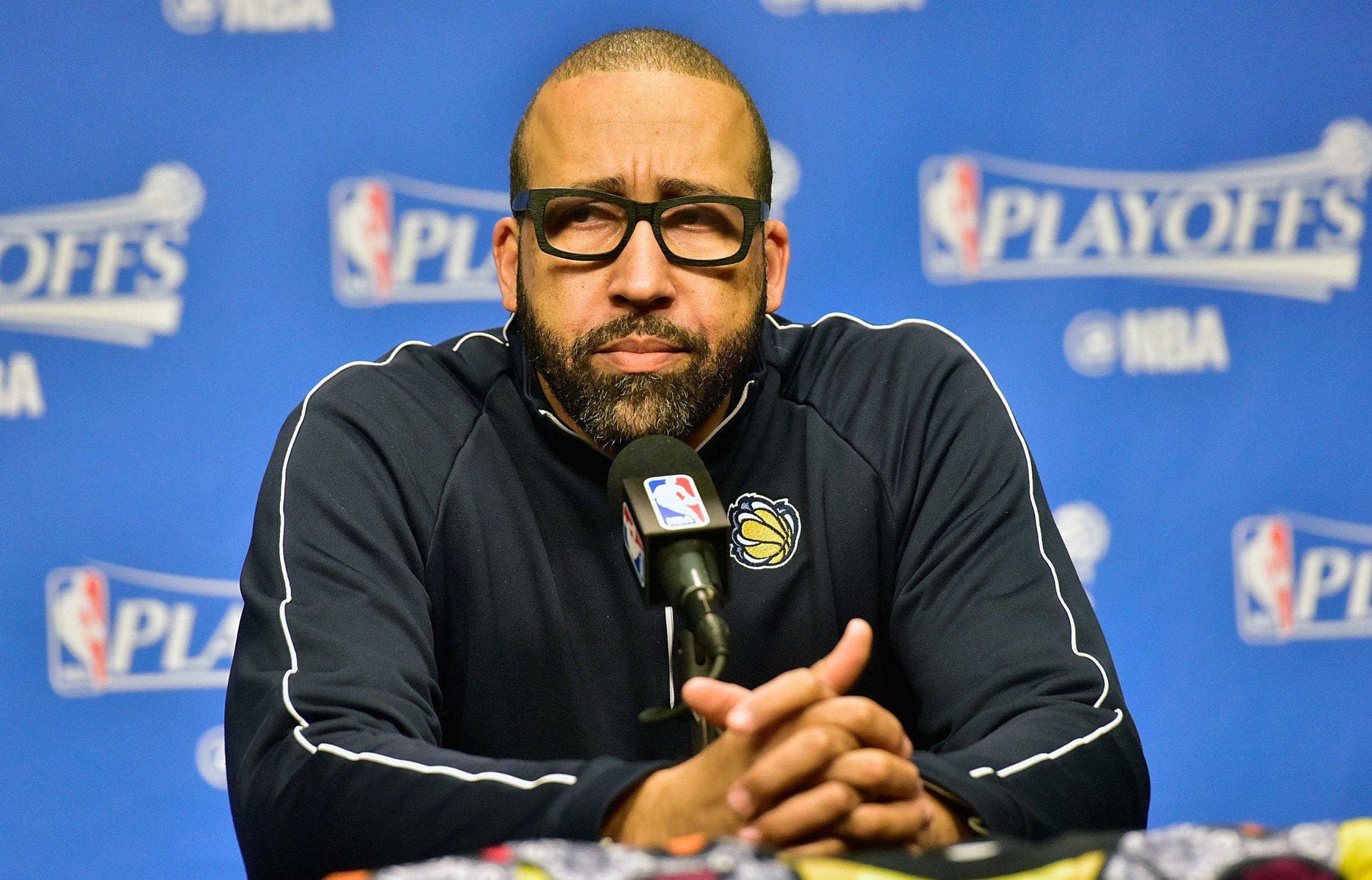 Former Memphis Grizzlies head coach David Fizdale.