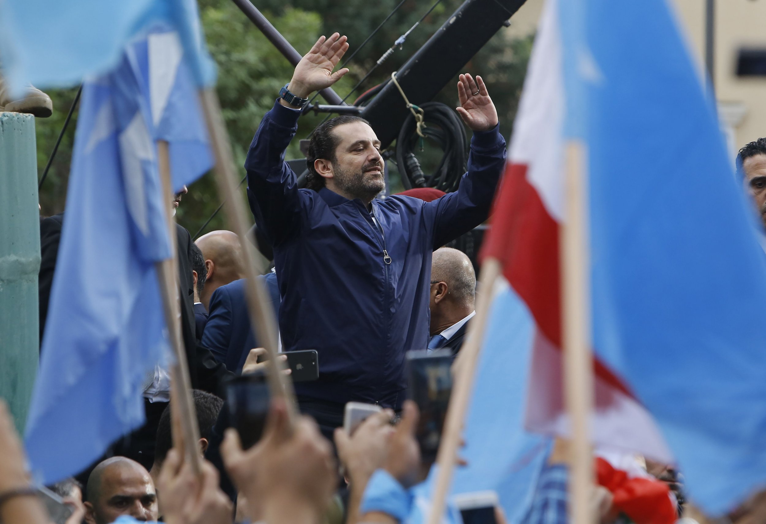 Why Lebanon's Prime Minister Saad Hariri Disappeared Into The Arms