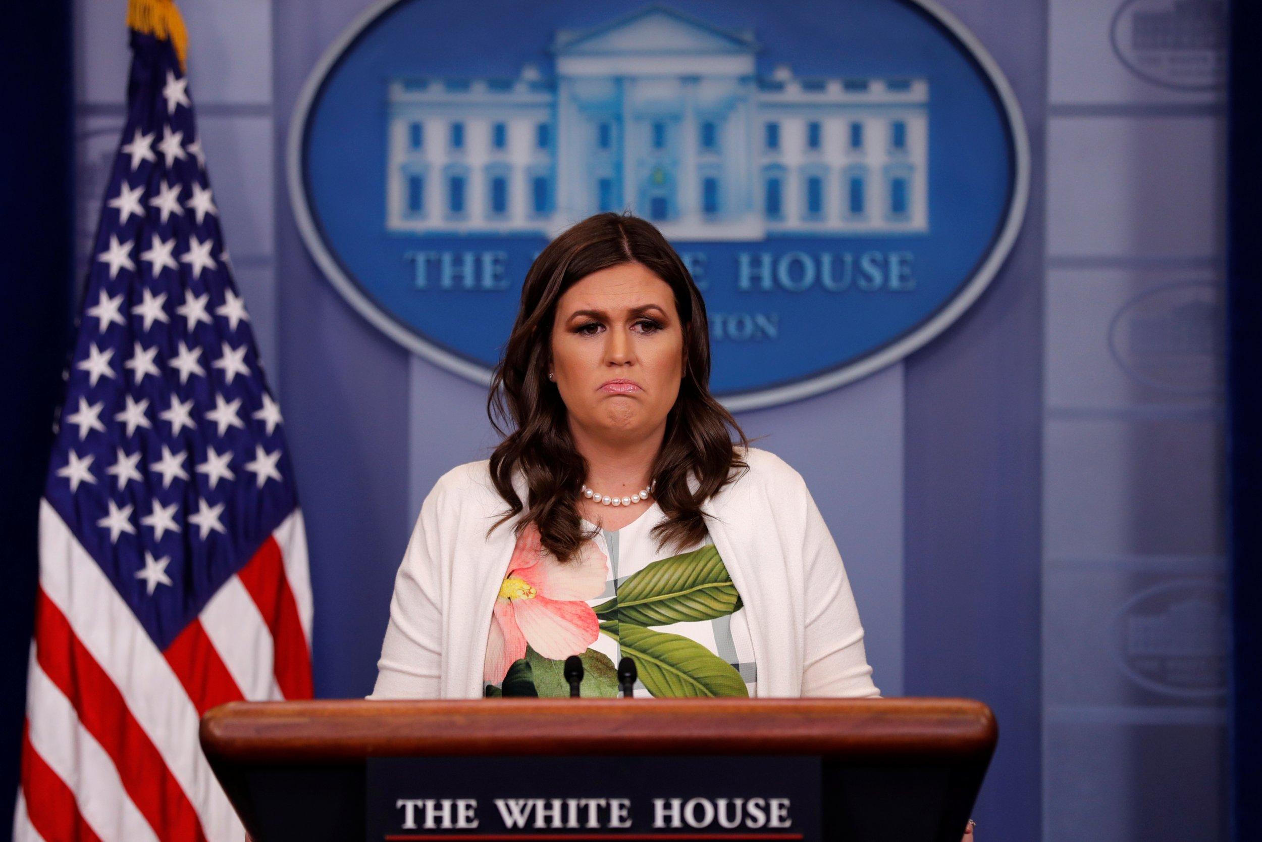 Sarah Huckabee Sanders Is a 'Liar' Who Spews 'Horseshit ...