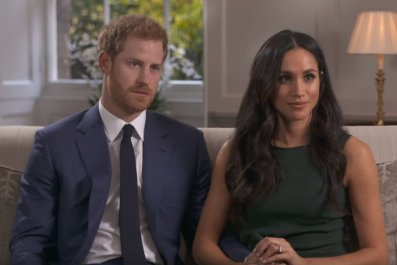 Meghan Markle and Prince Harry engagement interview