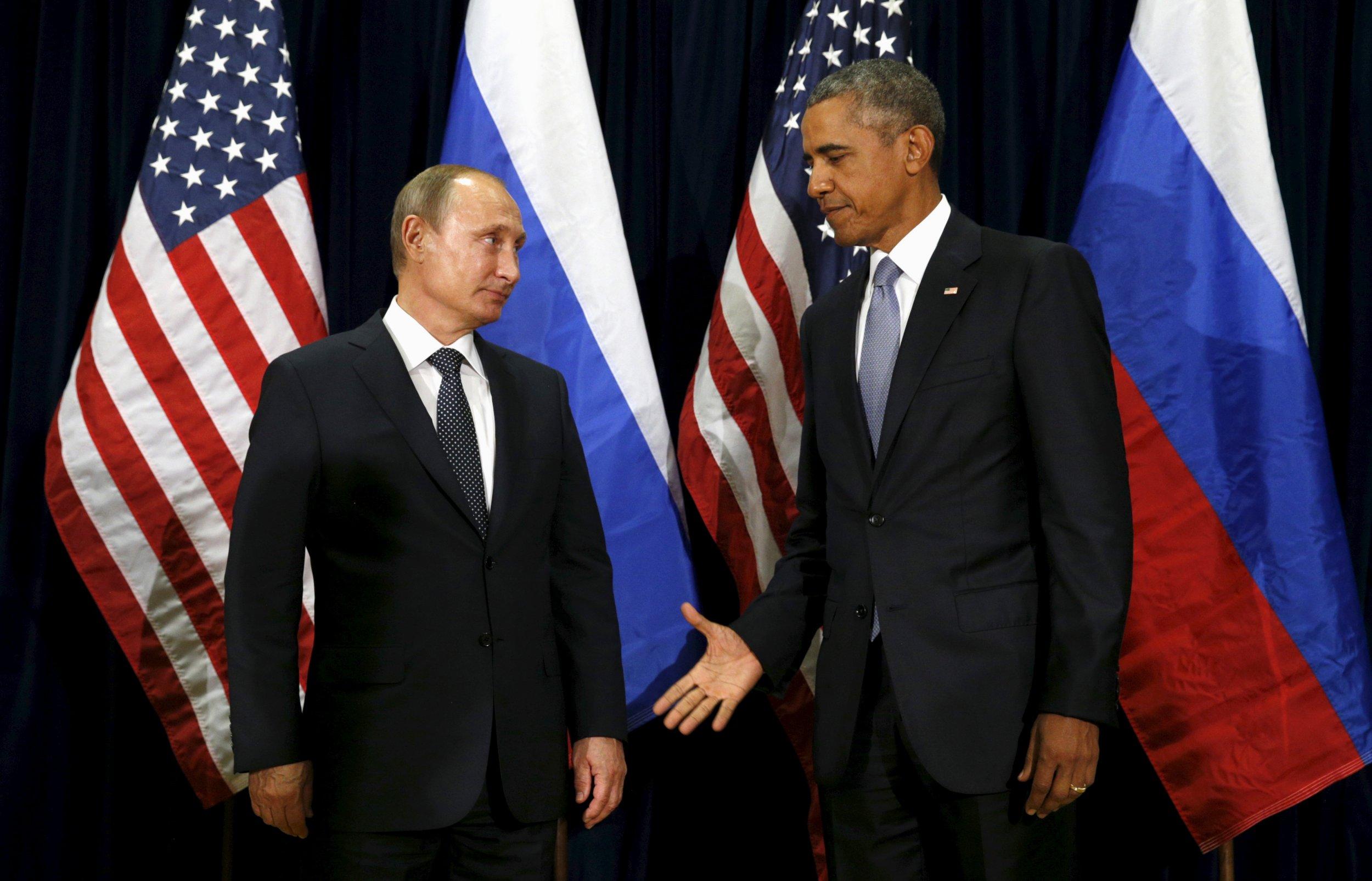 Putin Left