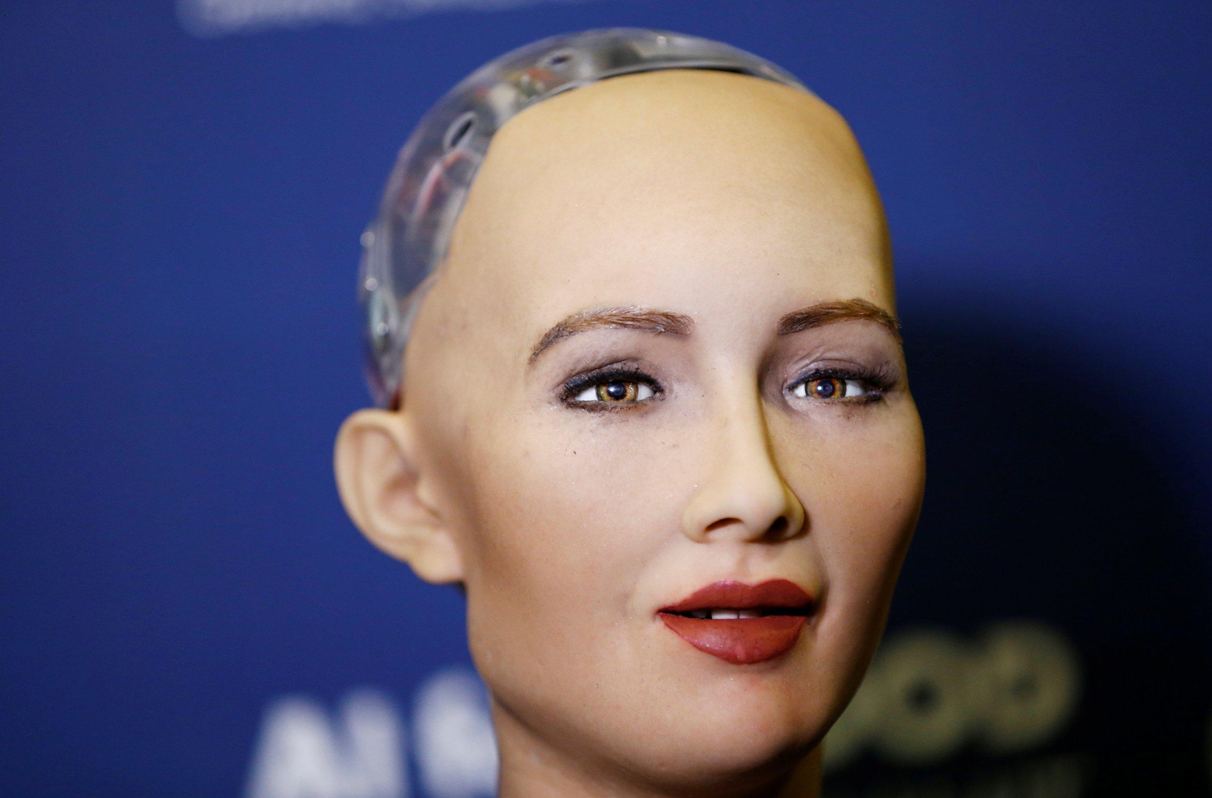 Hasil gambar untuk Robot sophia