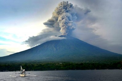 When will bali volcano erupt