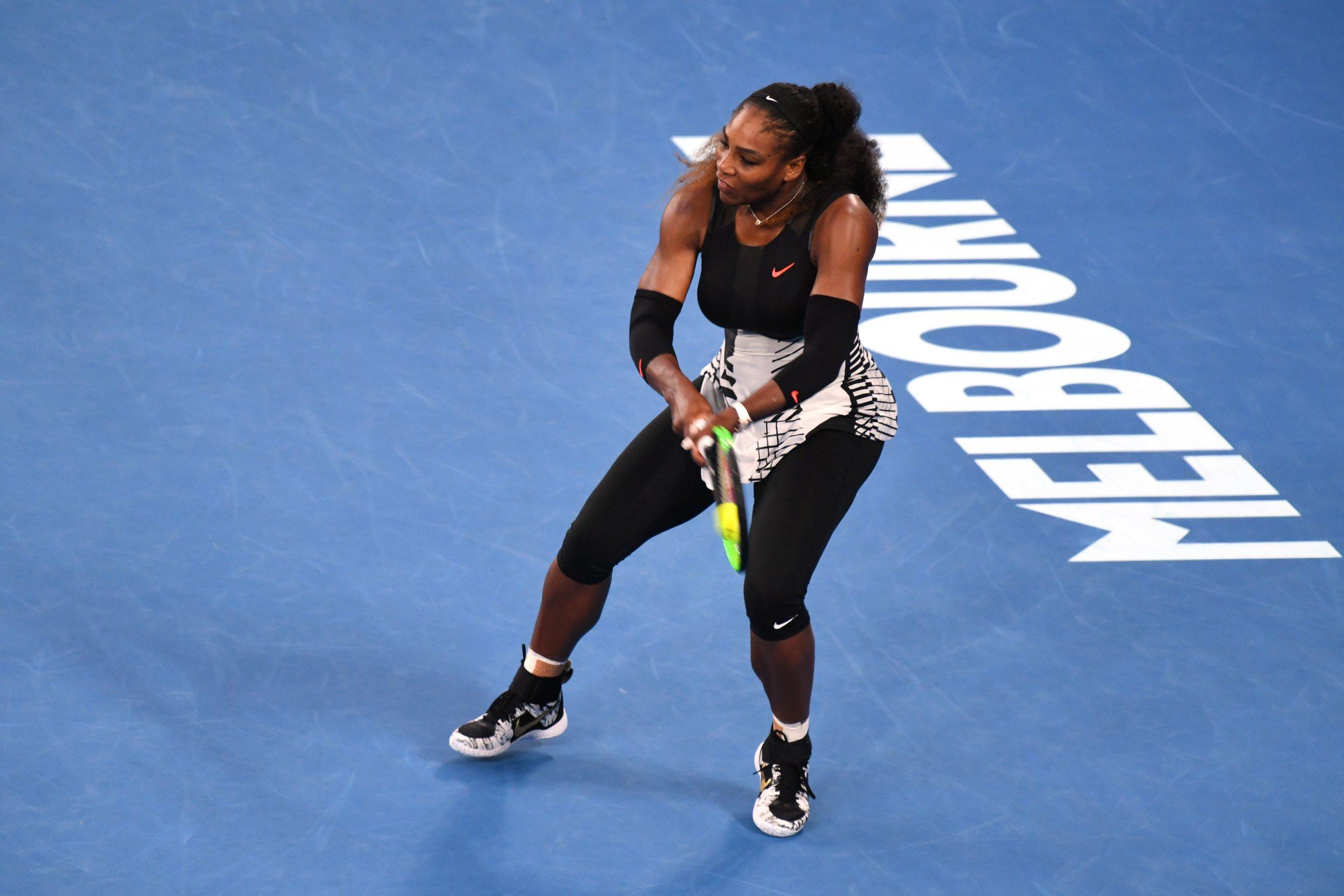 Former world number one Serena Williams.