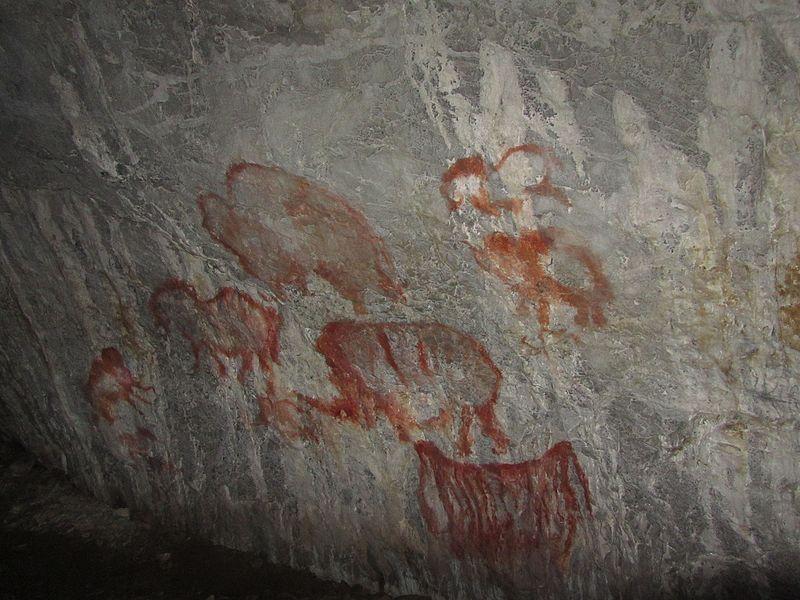 Рисунки_в_Каповой_пещере