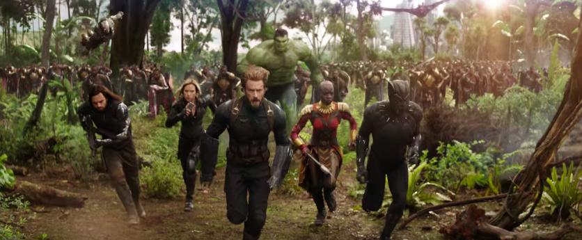 Image result for infinity war wakanda scene
