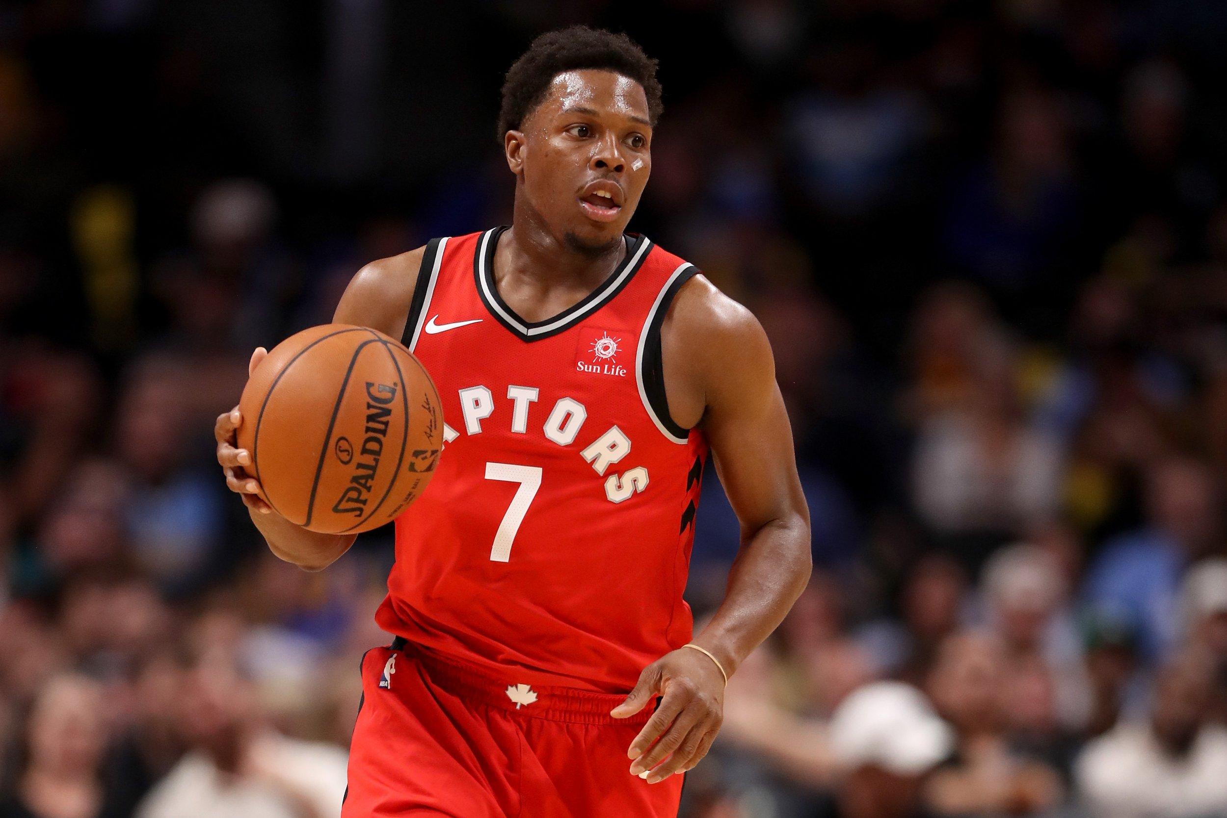 Toronto Raptors point guard Kyle Lowry.