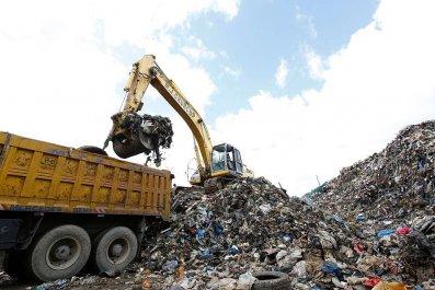 bitcoin treasure trash landfill hard drive