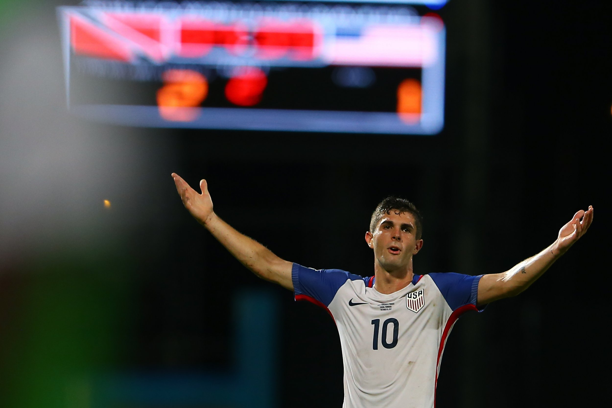 USMNT star midfielder Christian Pulisic.