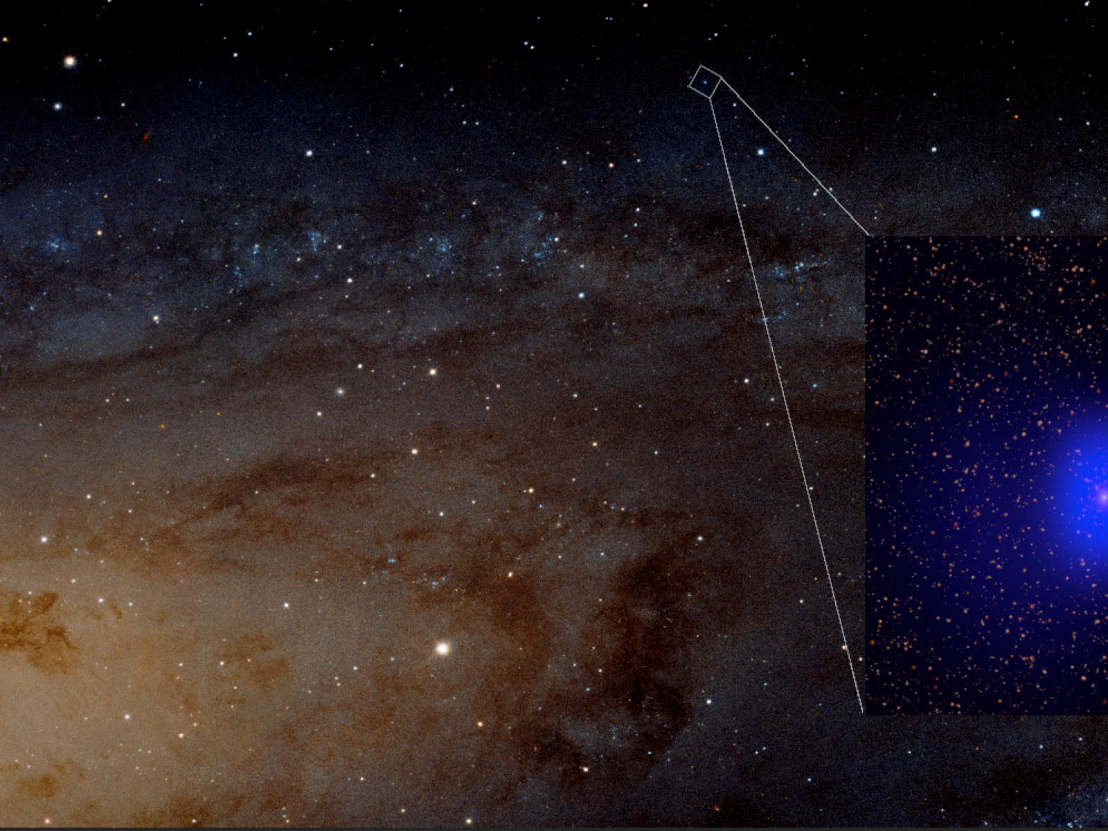 Supermassive Black Holes Spotted in Photo of Andromeda Are