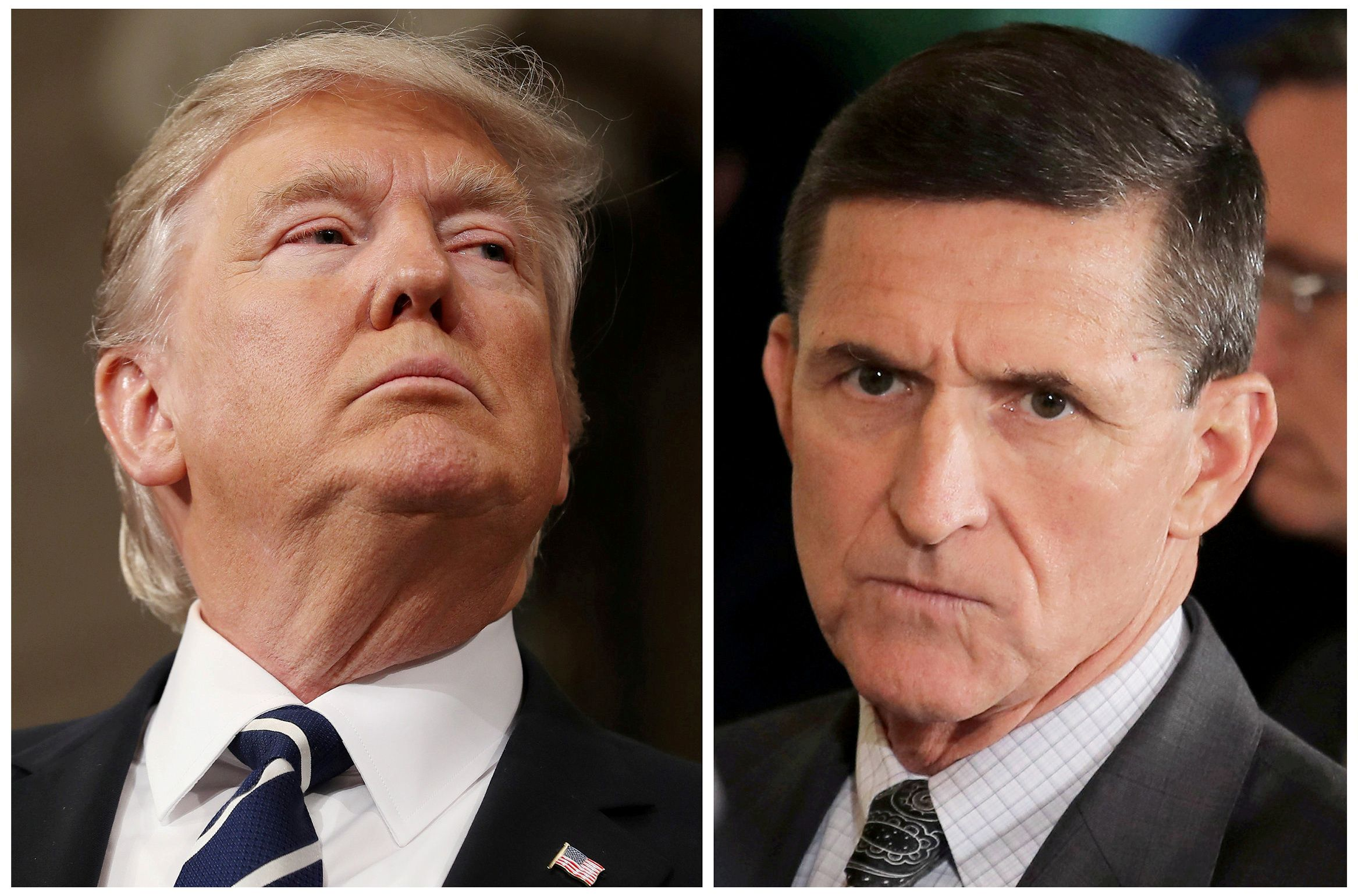 Whistleblower: Flynn was doing private Russia-related business on his phone during Trump's inauguration speech
