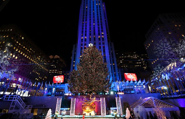 The annual Rockefeller Center Christmas tree lighting will take place on Wednesday, November 29, in New York City. Getty Images