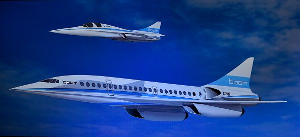 New Supersonic Commercial Flig...