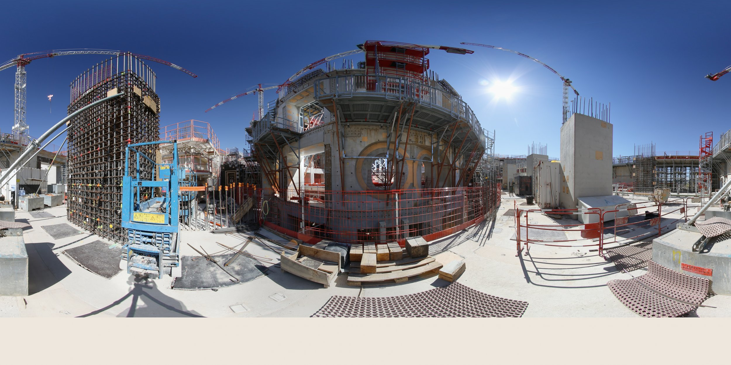 World S Biggest Nuclear Fusion Reactor Iter Now 50 Percent
