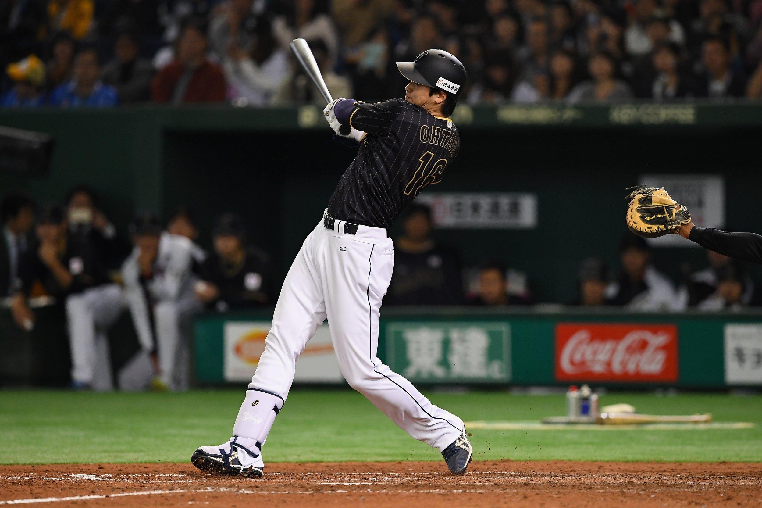 Japanese baseball star Shohei Otani.