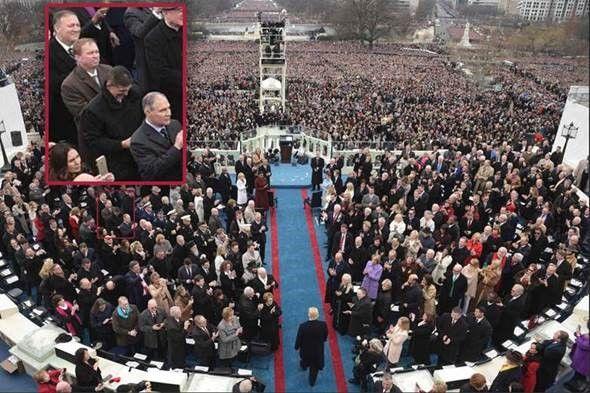 Flynn Inauguration Photo