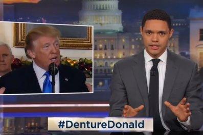 """Denture Donald"" trends because of Trevor Noah"