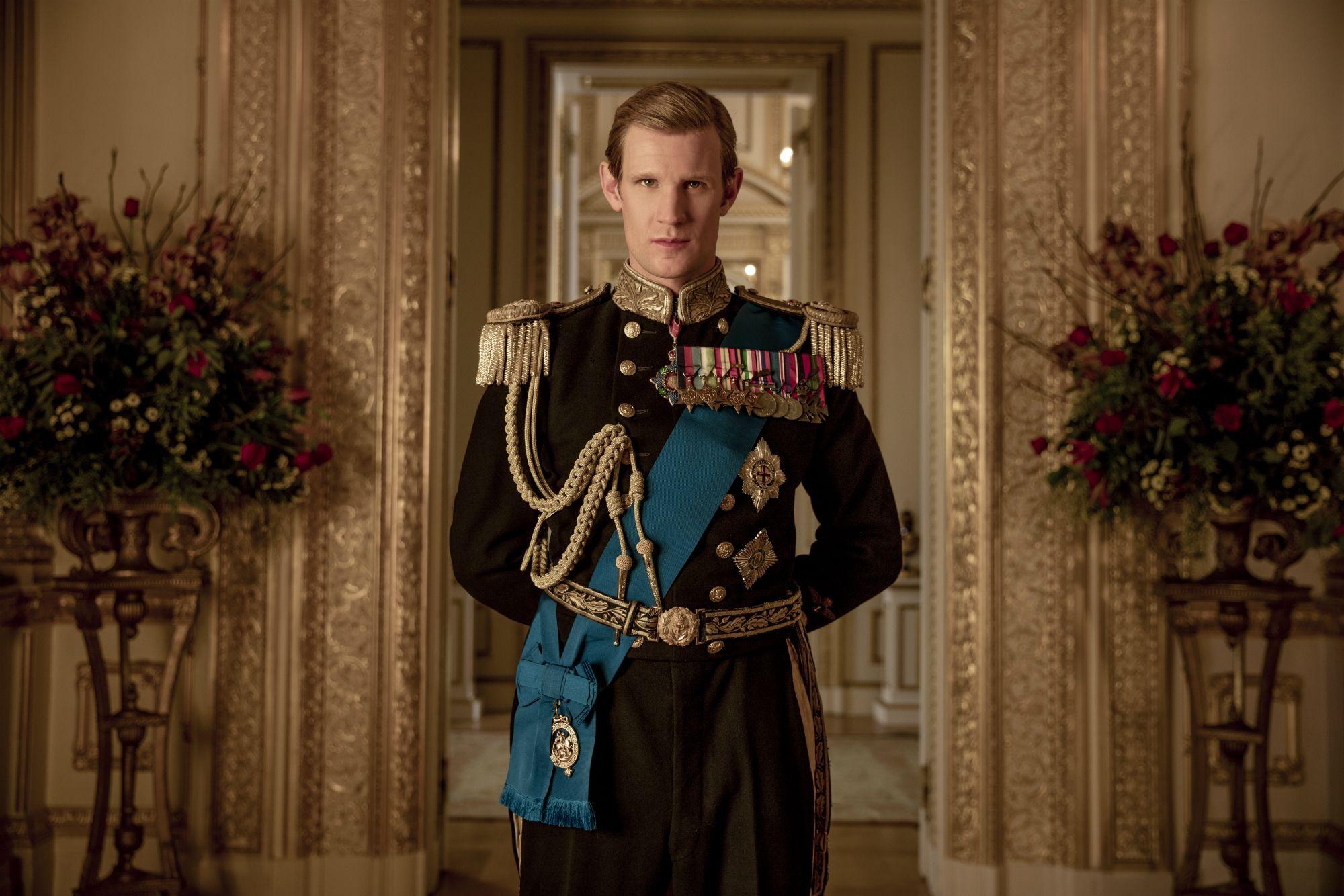 Matt Smith in 'The Crown' Season 2
