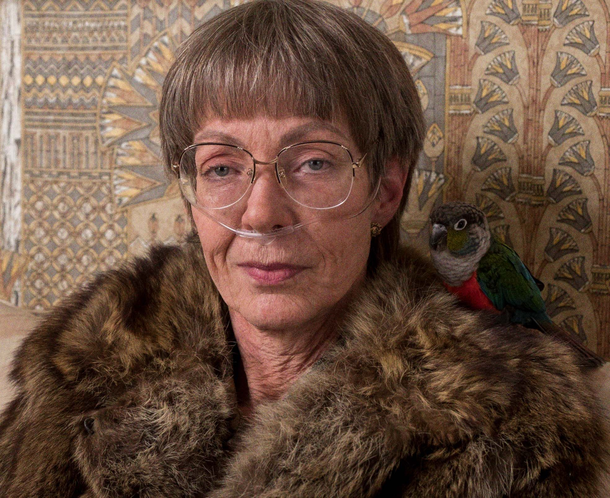 Animal Fur Clithing Porn who is lavona golden? scene-stealing allison janney plays