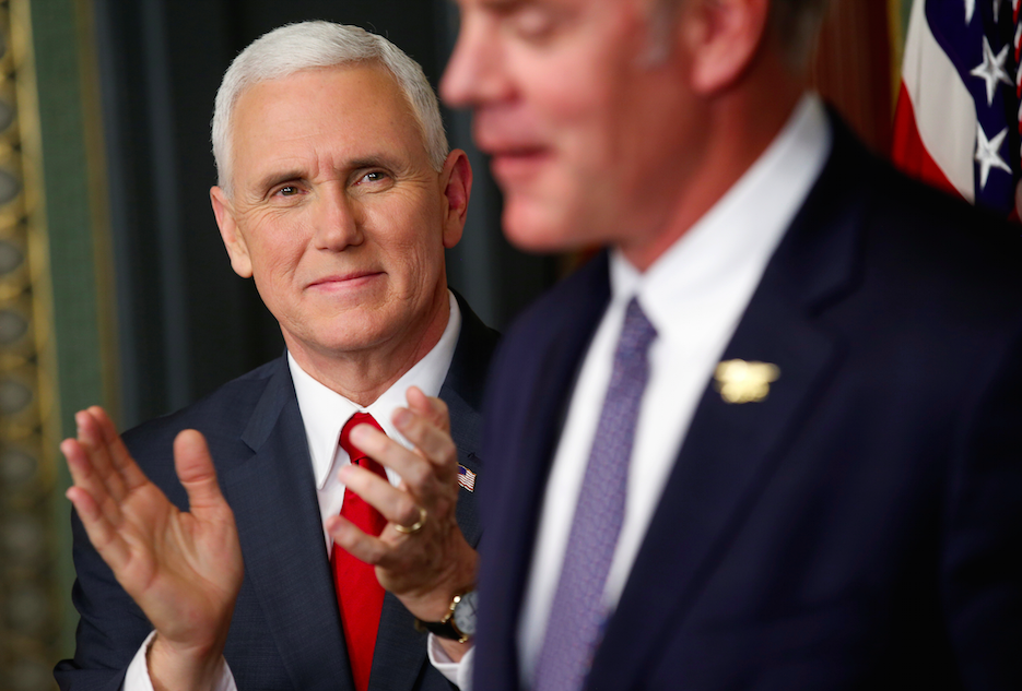Taxpayers Paid $6250 For Ryan Zinke's Horseback Ride With Mike Pence