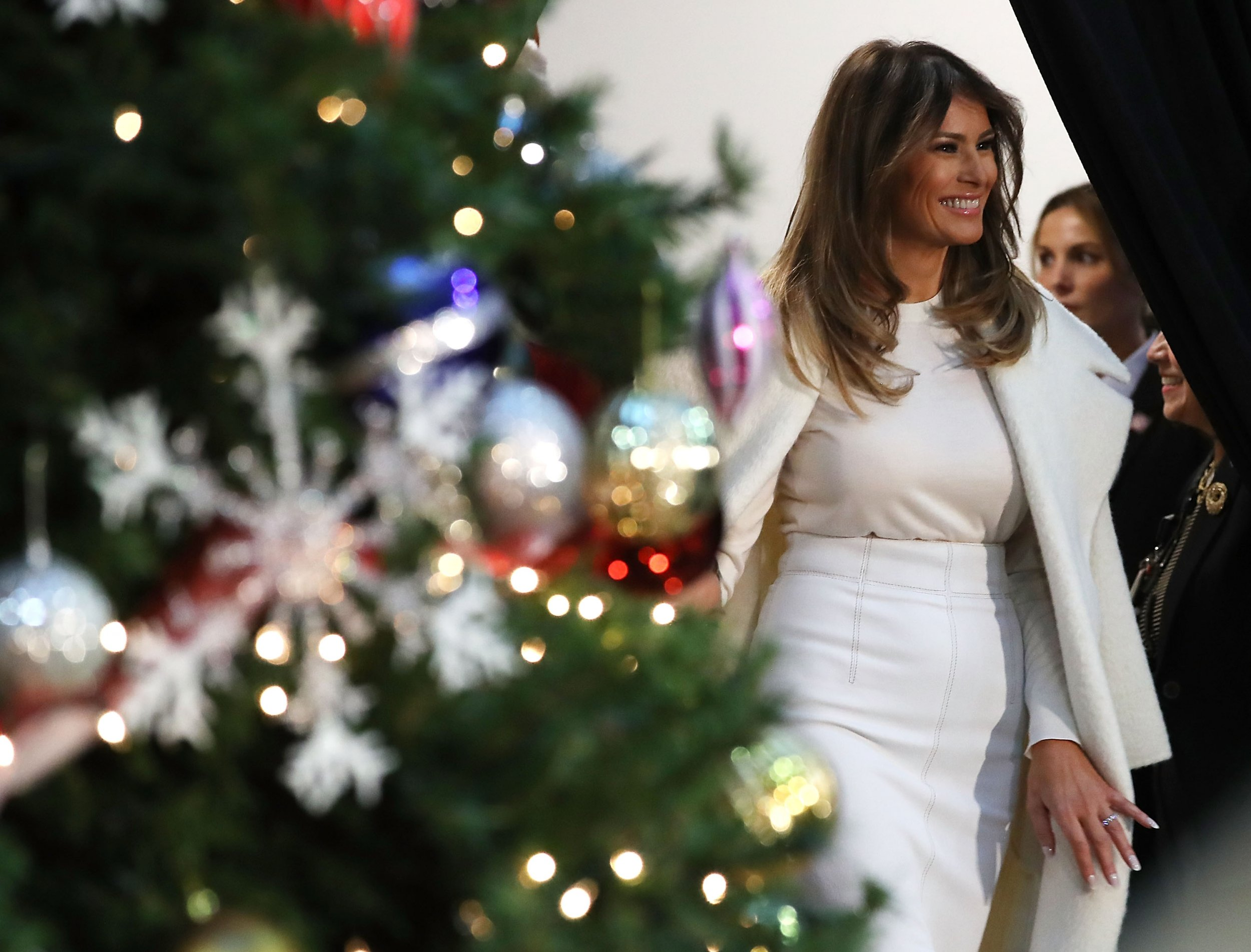 Melania Trump isn't as popular as Michelle Obama