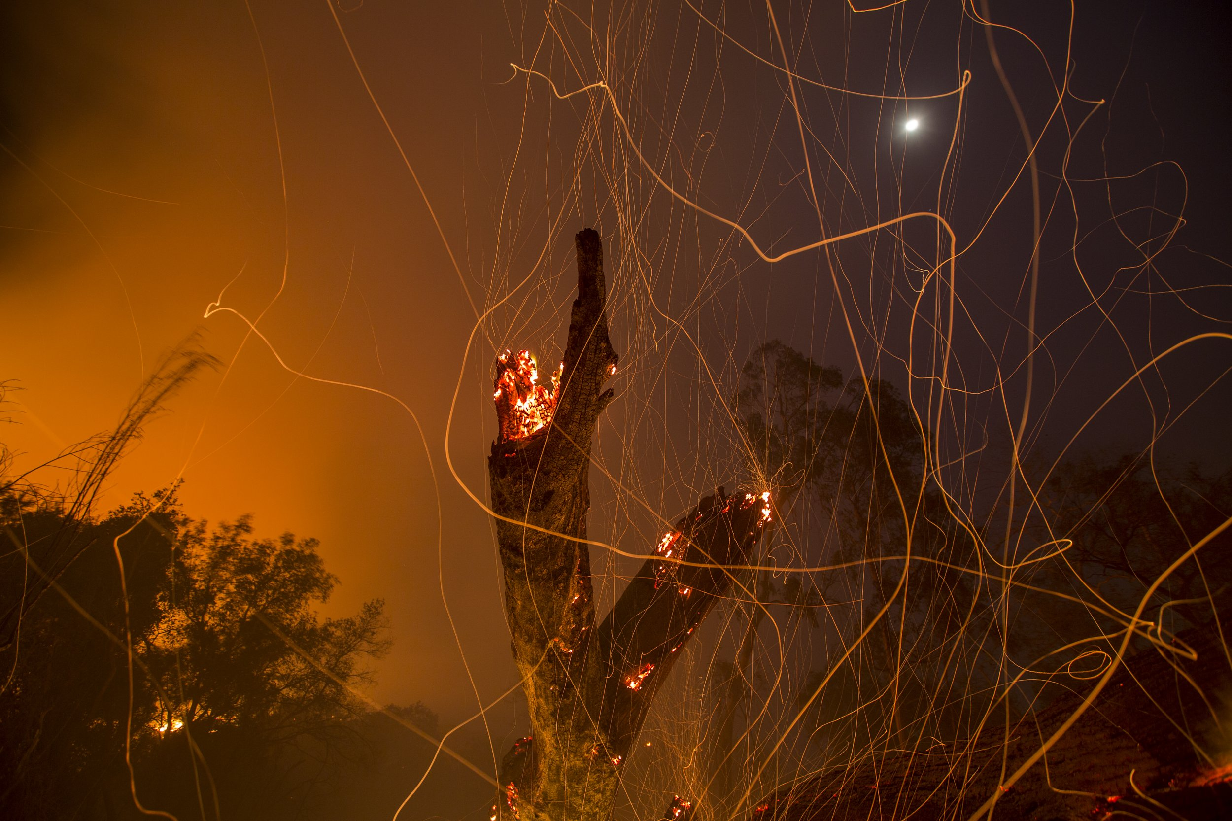 San Diego County Wildfire Map: Where Are the Fires Still