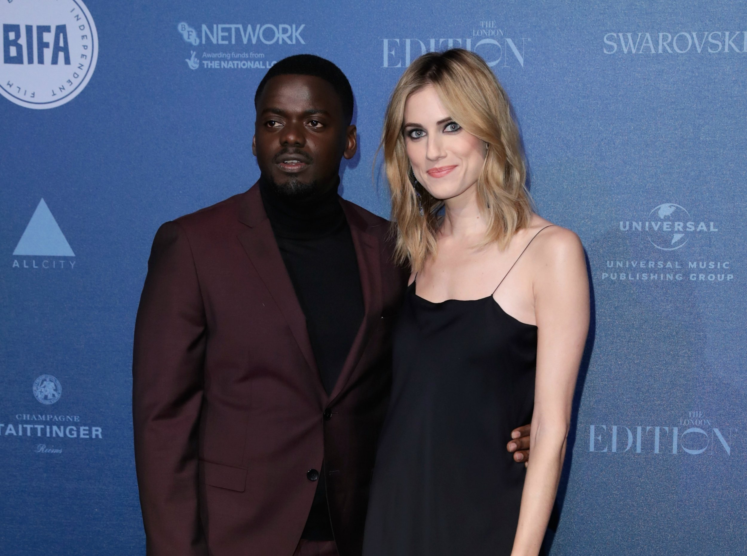 'Get Out' stars Allison Williams and Daniel Kaluuya