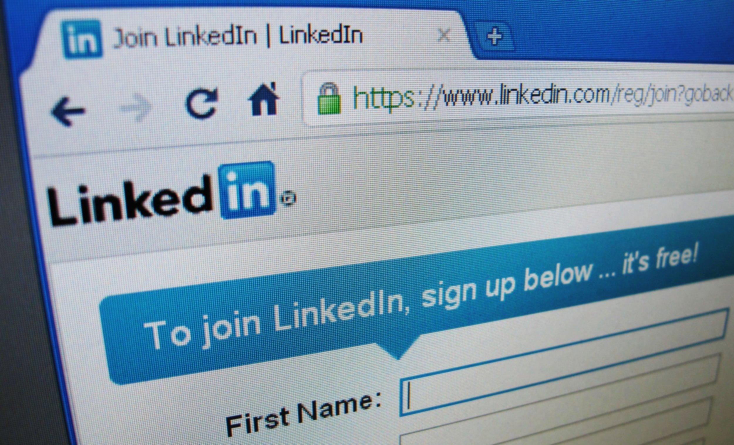 Linkedin china spy germany surveillance