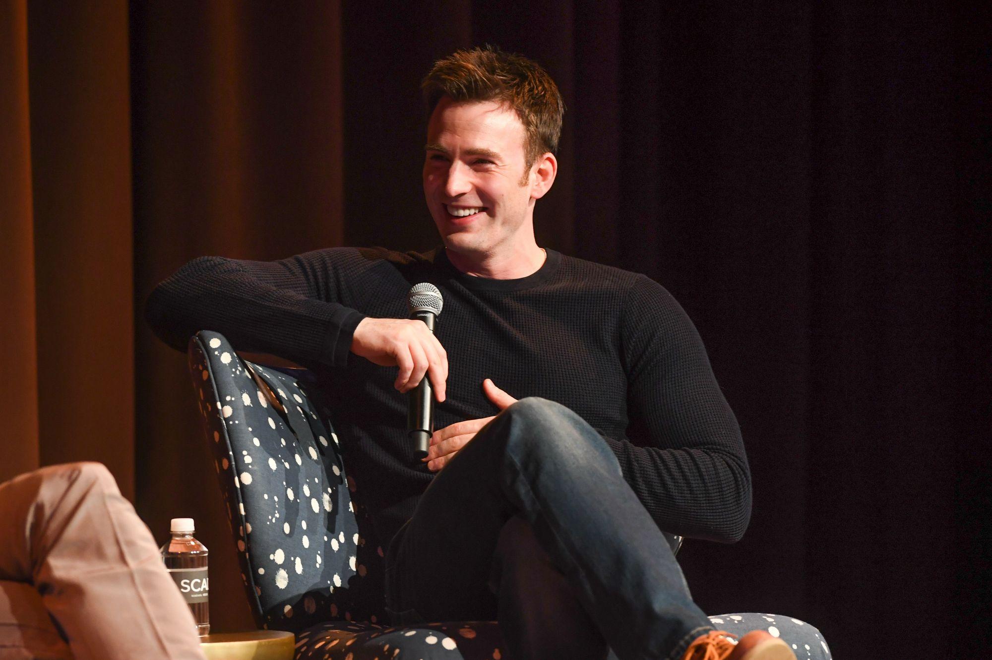 Chris Evans invited Keaton Jones to 'Avengers' premiere
