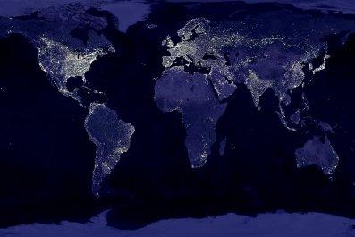 bitcoin mining energy consumption world map